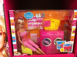 Barbie with Dishwasher