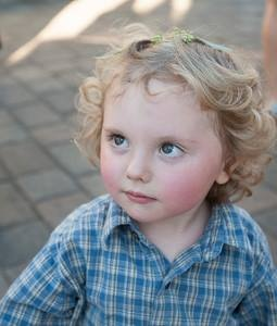 boy blond curls