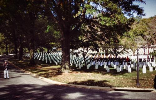 Arlington Cemetery Marines