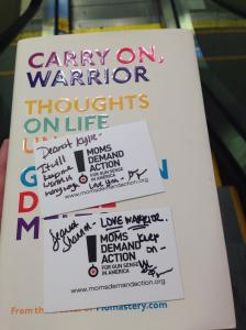 Carry On Warrior: thoughts on life unarmed