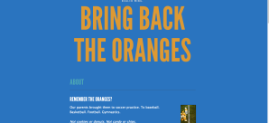 Bring Back the Oranges